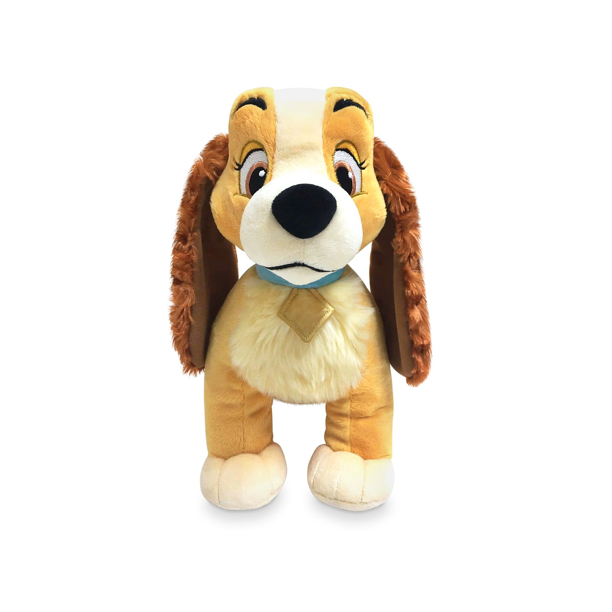 Disney Lady and the Tramp - Lady Large Plush Toy Genuine Disney