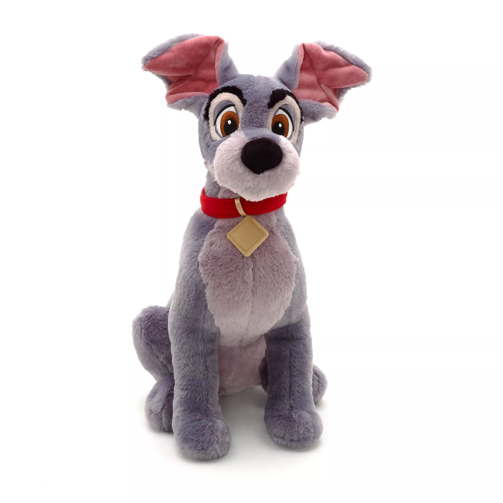 Disney Lady and the Tramp - Tramp Plush Toy Authentic Disney