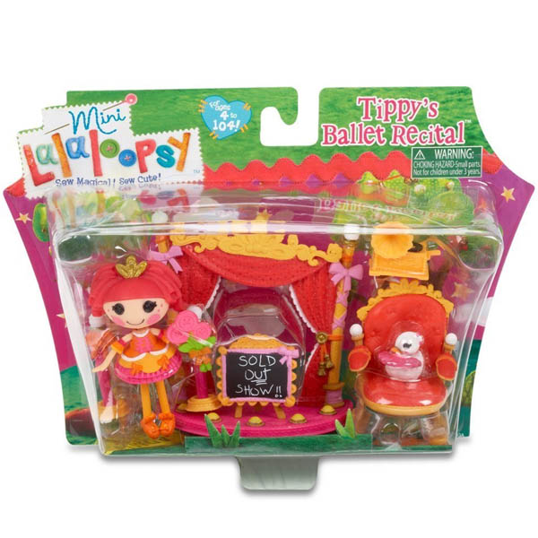 Mini Lalaloopsy Playset Tippy's Ballet Recital