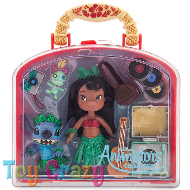 Disney Animators Collection Lilo & Stitch Mini Doll Play Set
