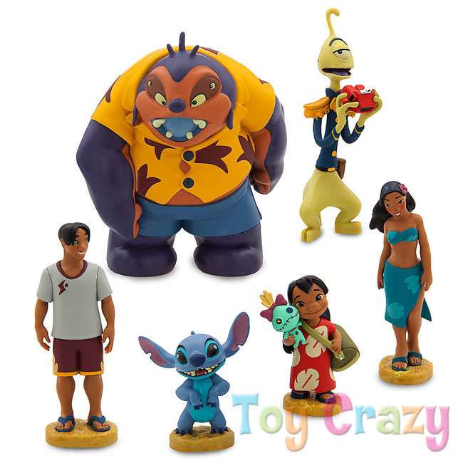 Disney Lilo & Stich Figure Figurine Playset Cake Toppers