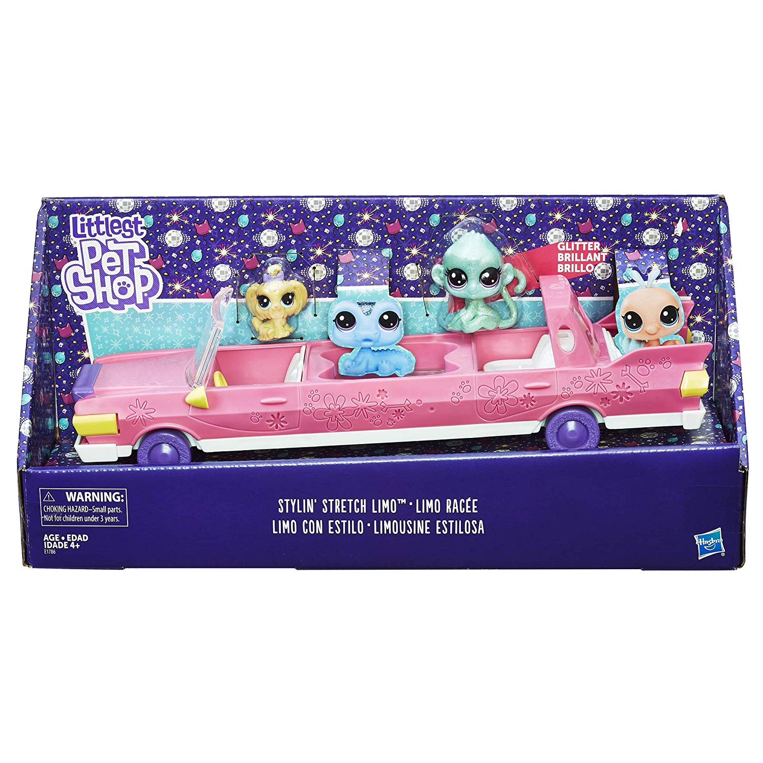 Littlest Pet Shop Stylin Stretch Pet Limo with Two Pets