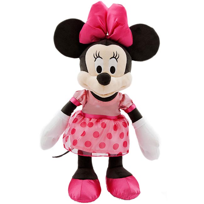 Minnie Mouse Pink Baby Plush Disney Baby