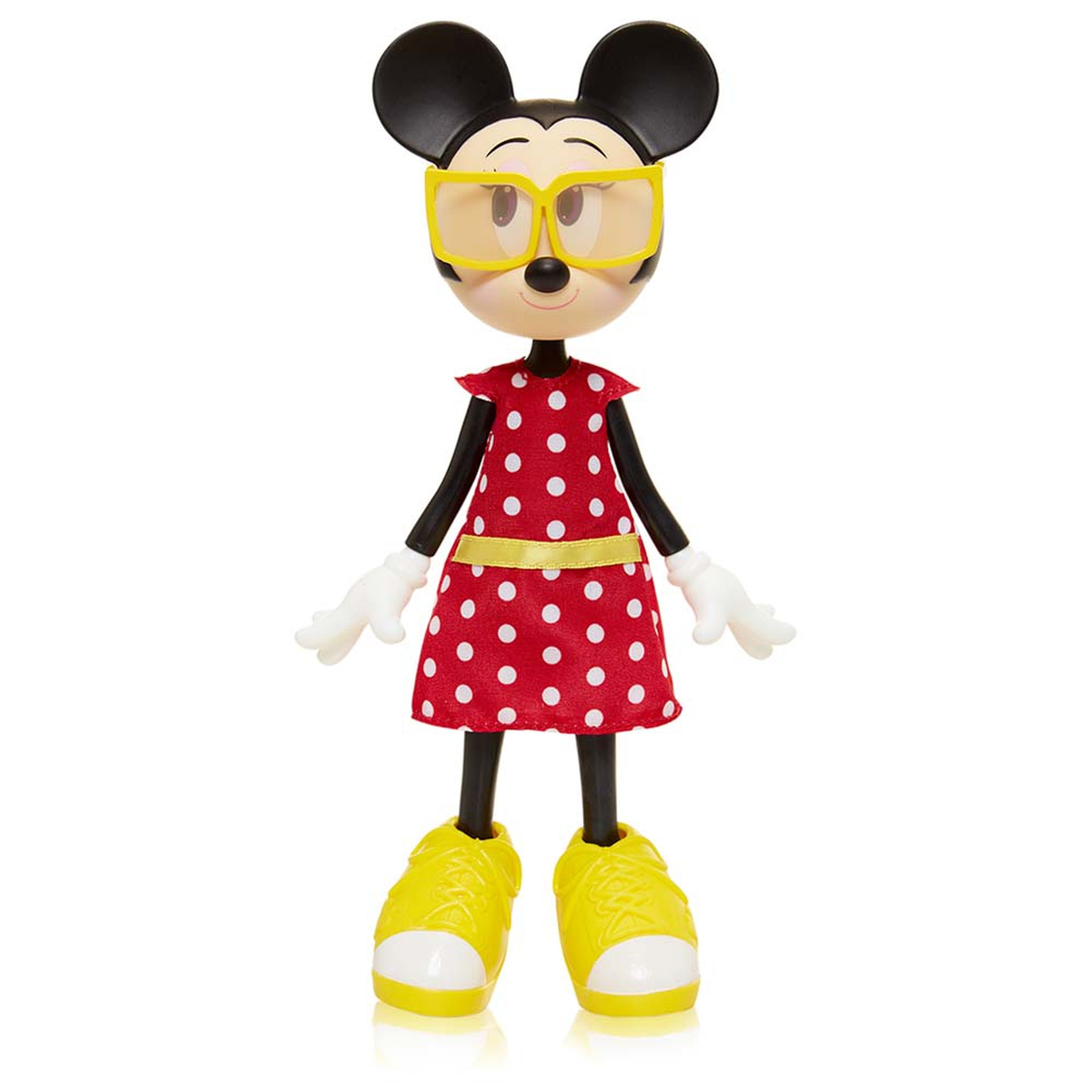 Disney Minnie Mouse Poseable Doll - Ravishing Red Outfit