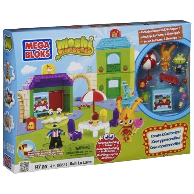 Moshi Monsters Mega Bloks Ooh La Lane 80631