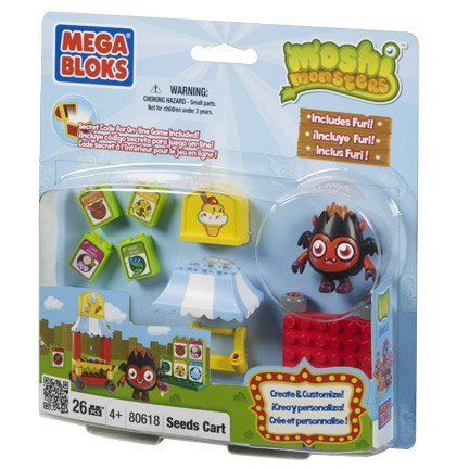 Moshi Monsters Mega Bloks Seeds Cart 80618