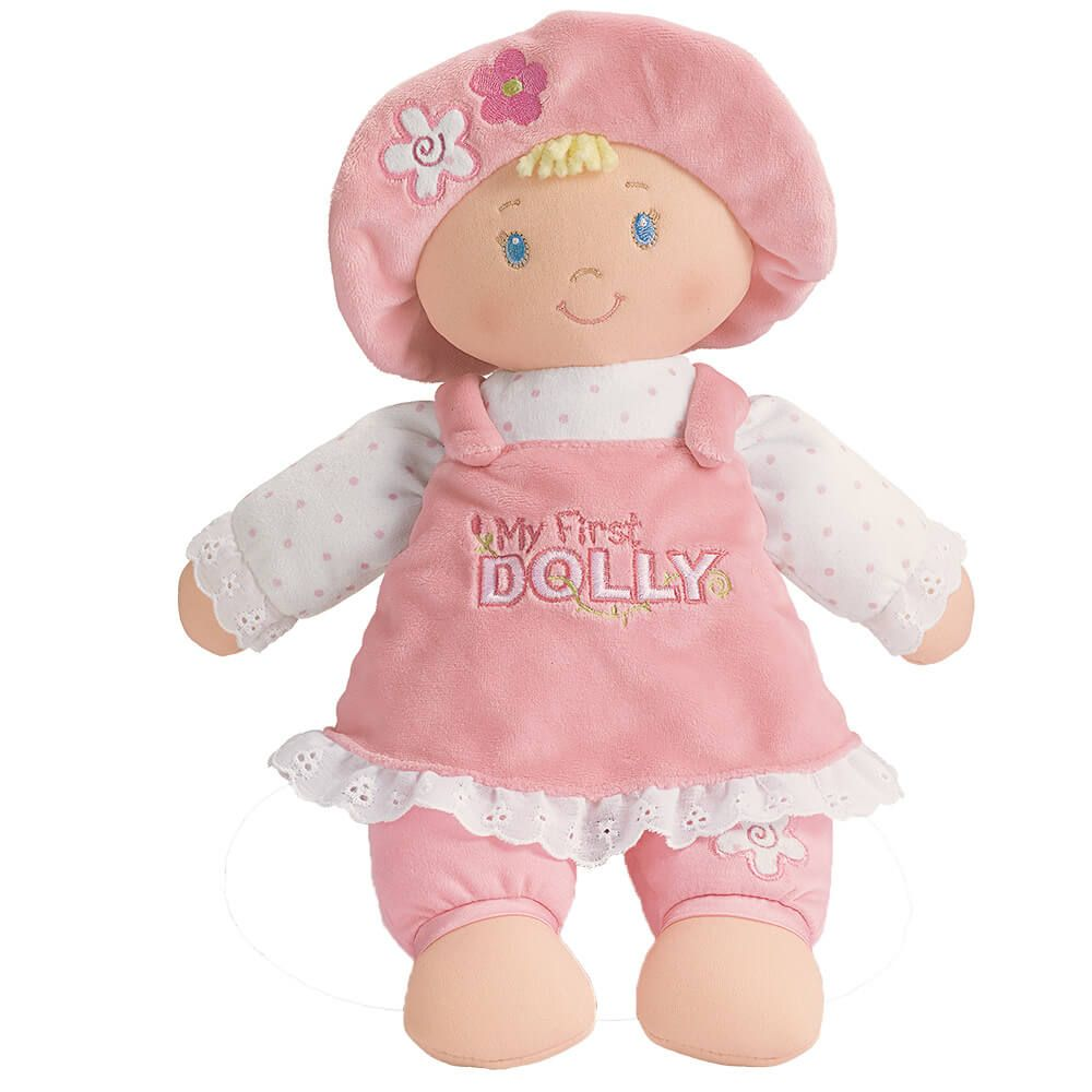 Baby Gund My First Dolly Soft Plush Baby Doll Blonde Hair