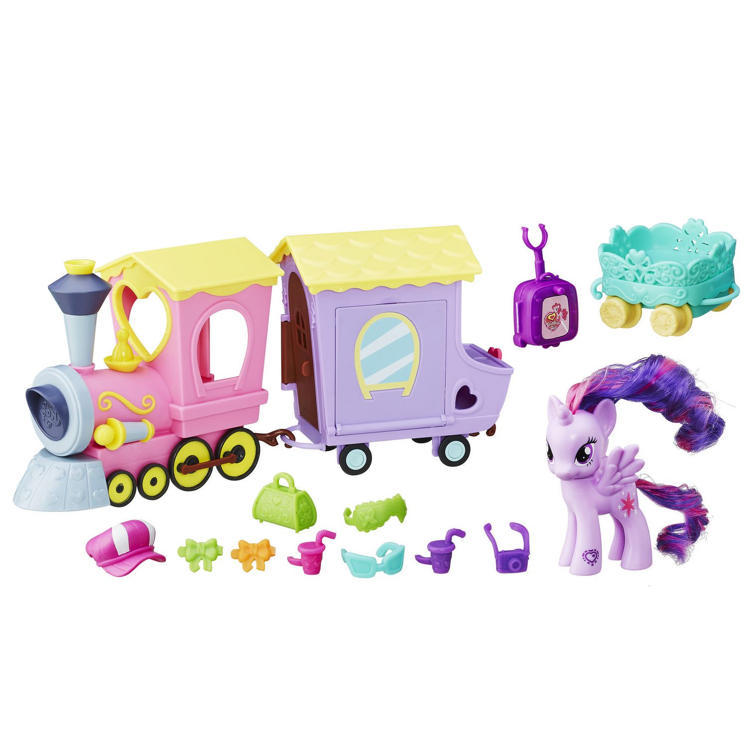 My Little Pony Friendship Express Train with Twilight Sparkle