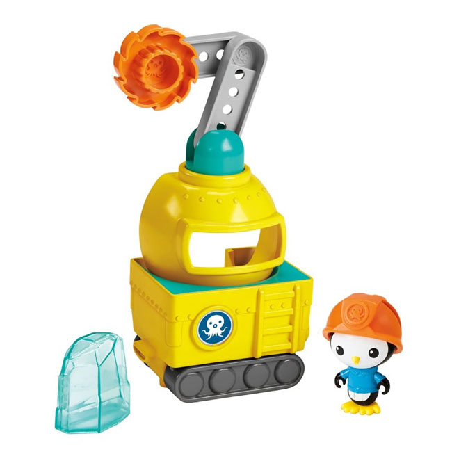 Octonauts Octo-Saw Vehicle with Peso by Fisher Price