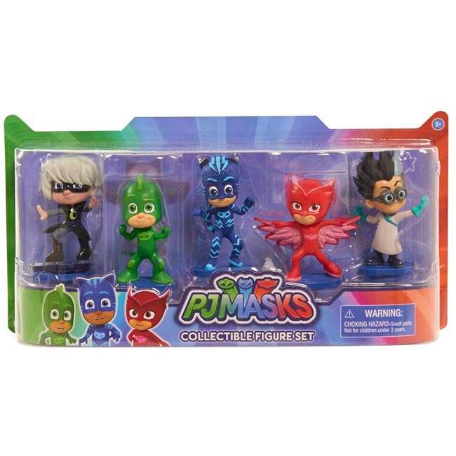 PJ Masks 5 Piece Collectible Figure Set