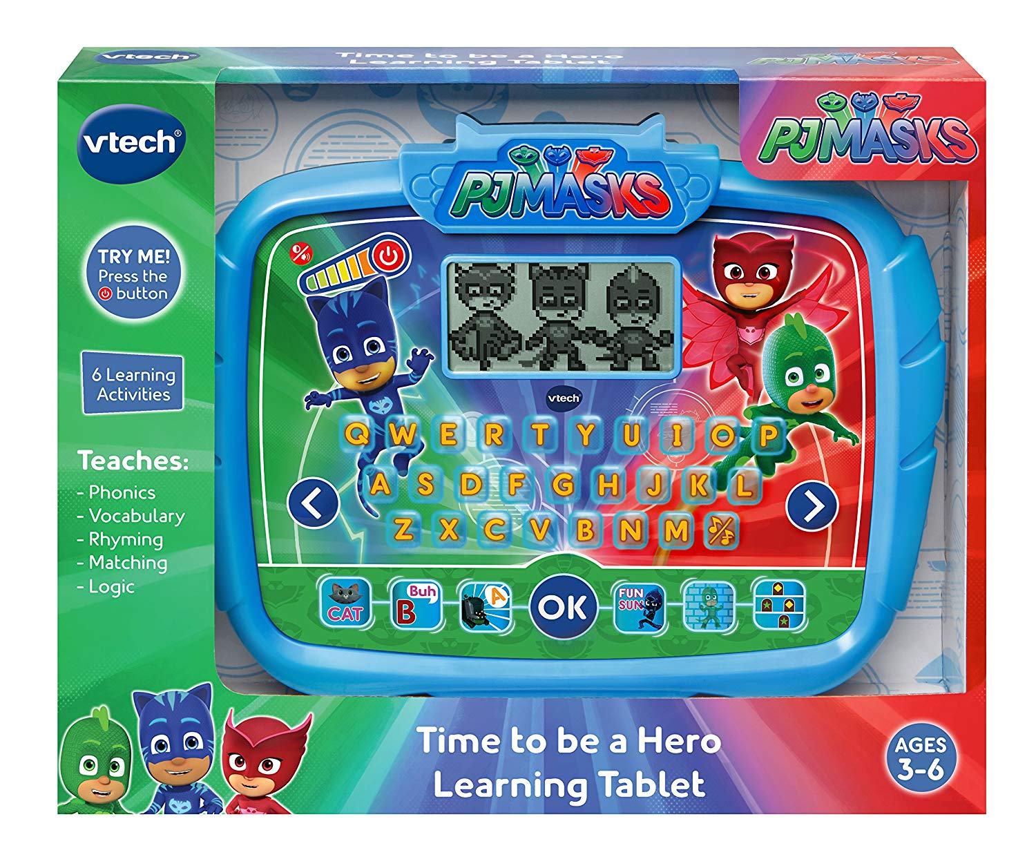 PJ Masks Time to Be a Hero Learning Tablet by VTech