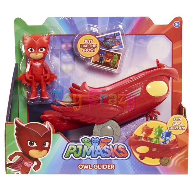 PJ Masks Owlette and Owl Glider Vehicle