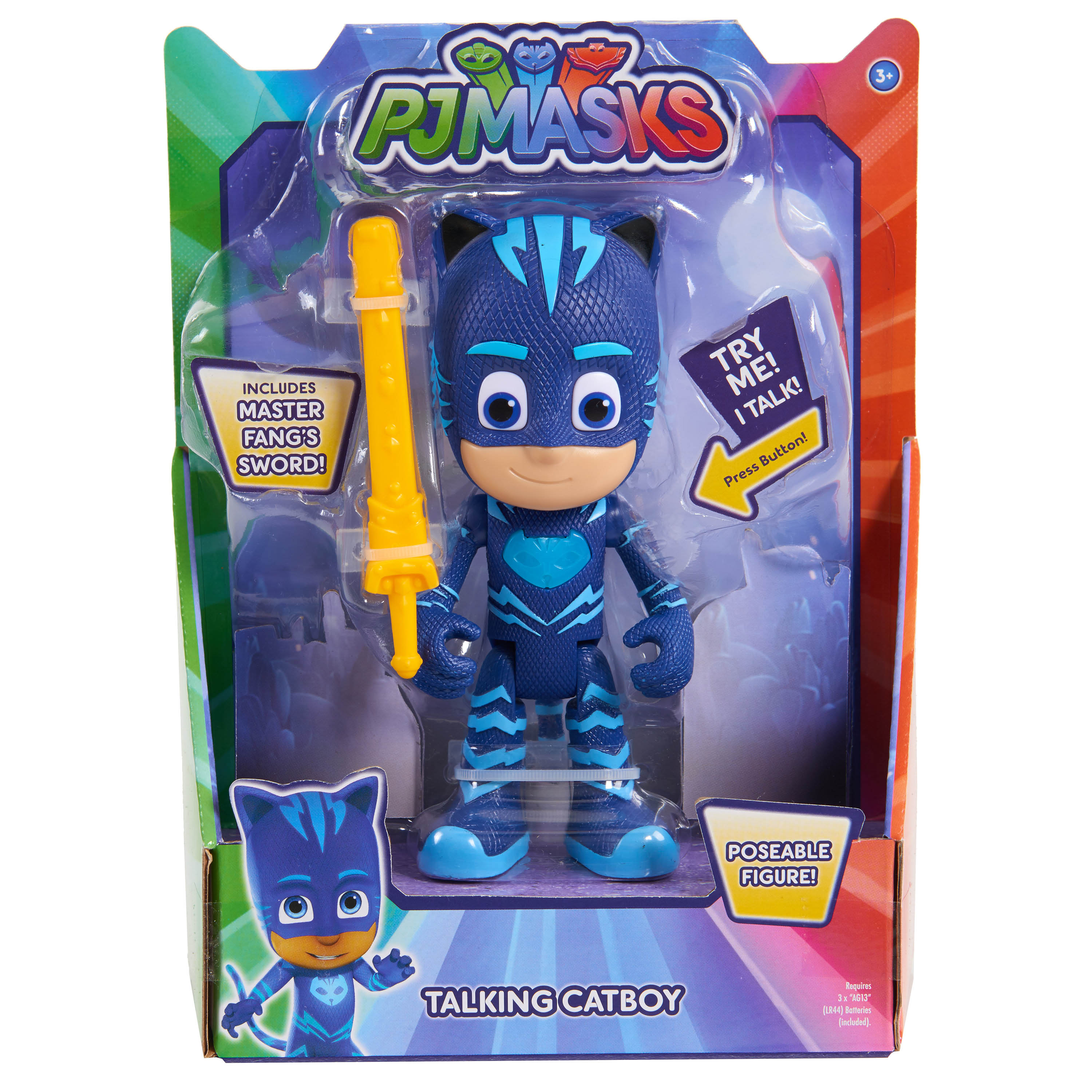 PJ Masks Talking Catboy Poseable Action Figure