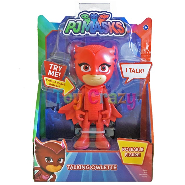 PJ Masks Talking Owlette Poseable Action Figure