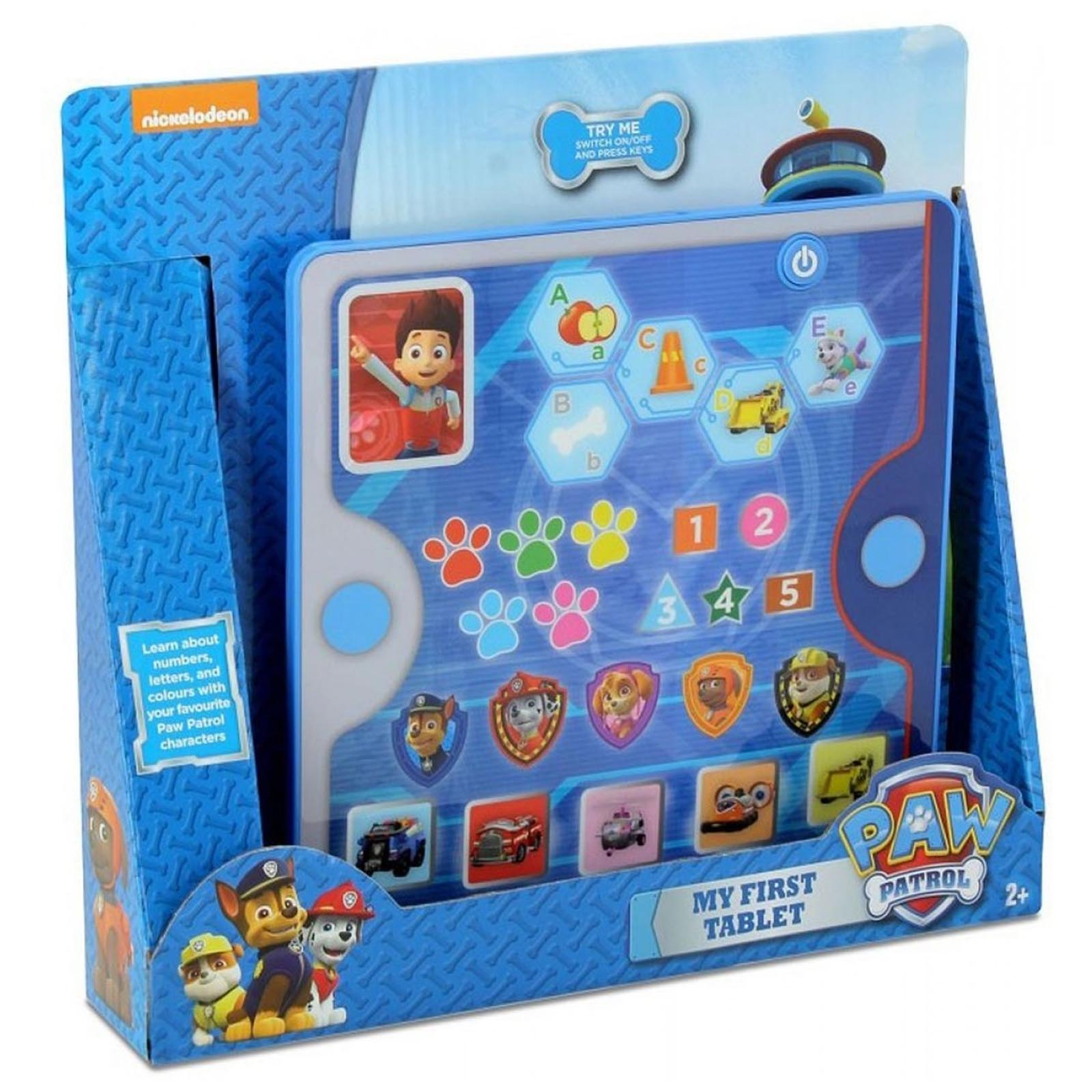 Paw Patrol Educational My First Tablet