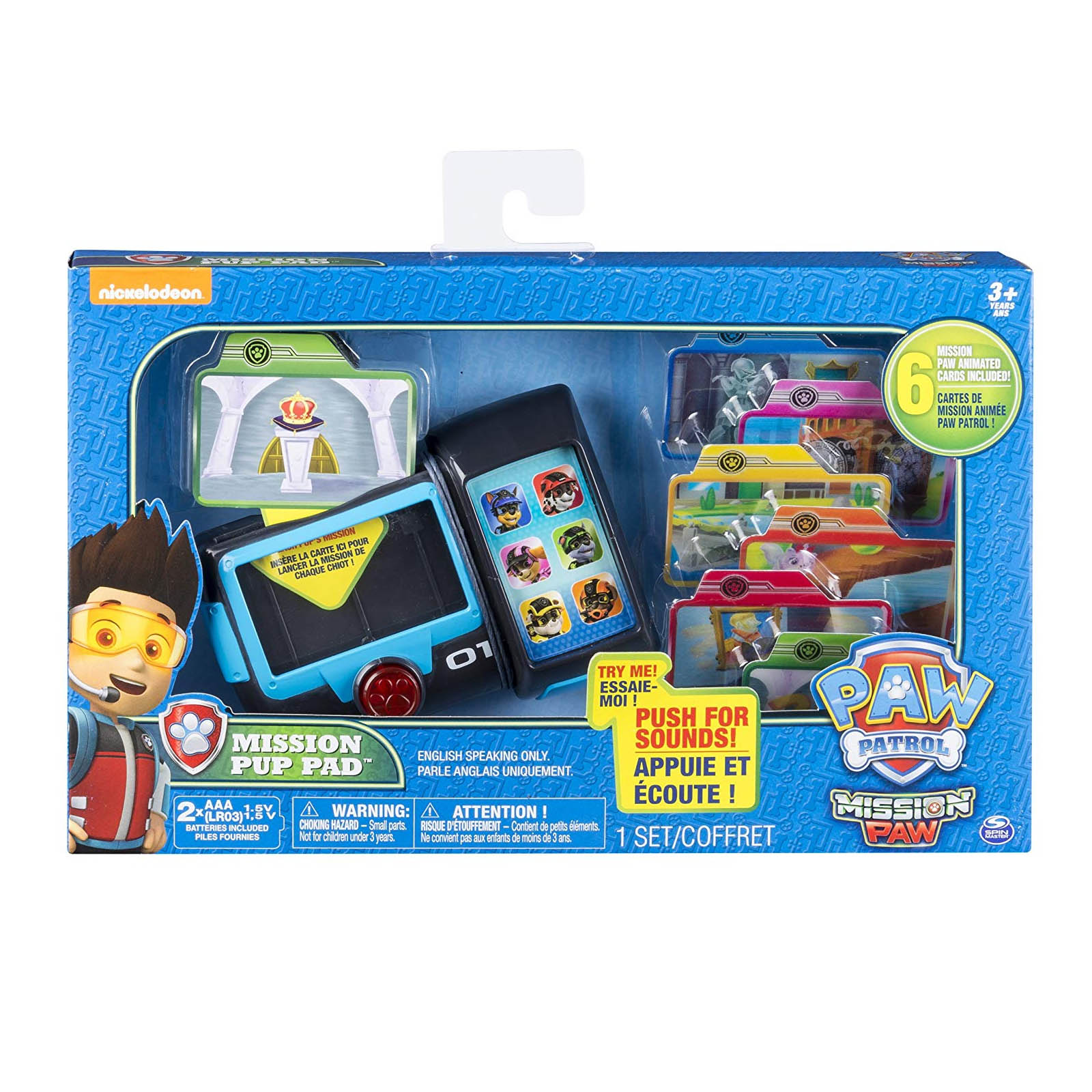 Paw Patrol Mission Paw Mission Pup Pad with Talking and Sounds