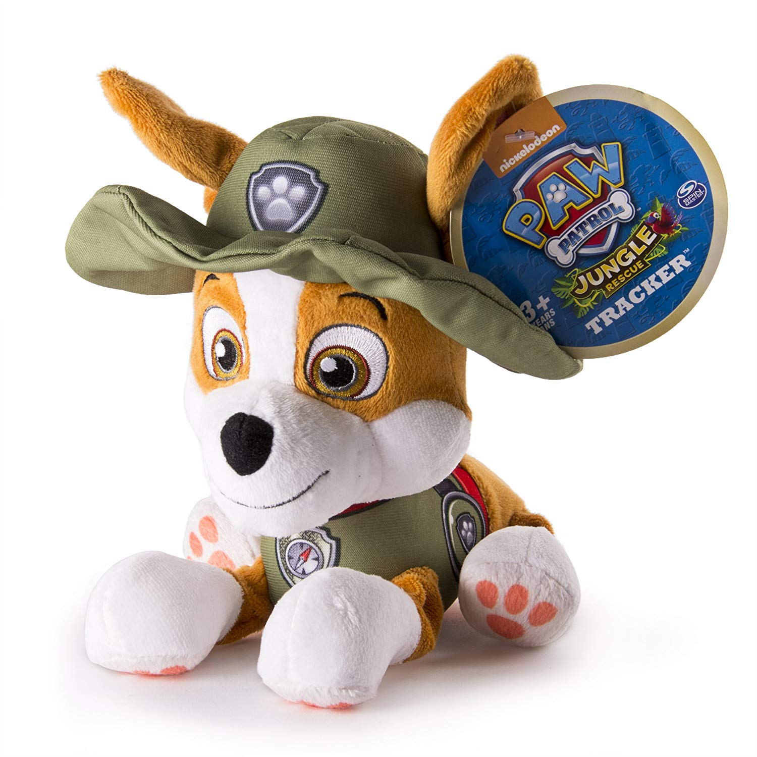 Paw Patrol Jungle Rescue Genuine Licenced Plush Tracker