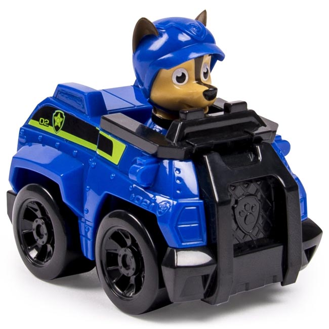 Paw Patrol Racers Push Along Chase Spy Vehicle