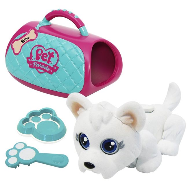 Pet Parade Carry Kit with West Highland Terrier Puppy