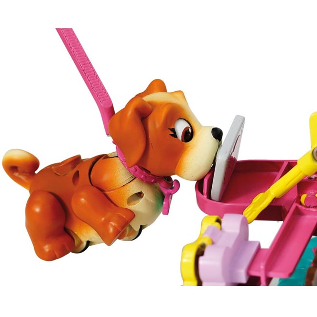 Pet Parade Train and Treat Kit with Bulldog Puppy