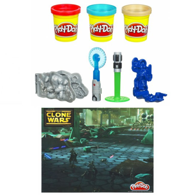 Play-Doh Star Wars The Clone Wars & Accessories