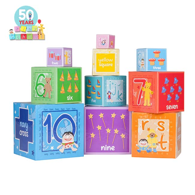 Play School Stackable Alphabet Learning Blocks