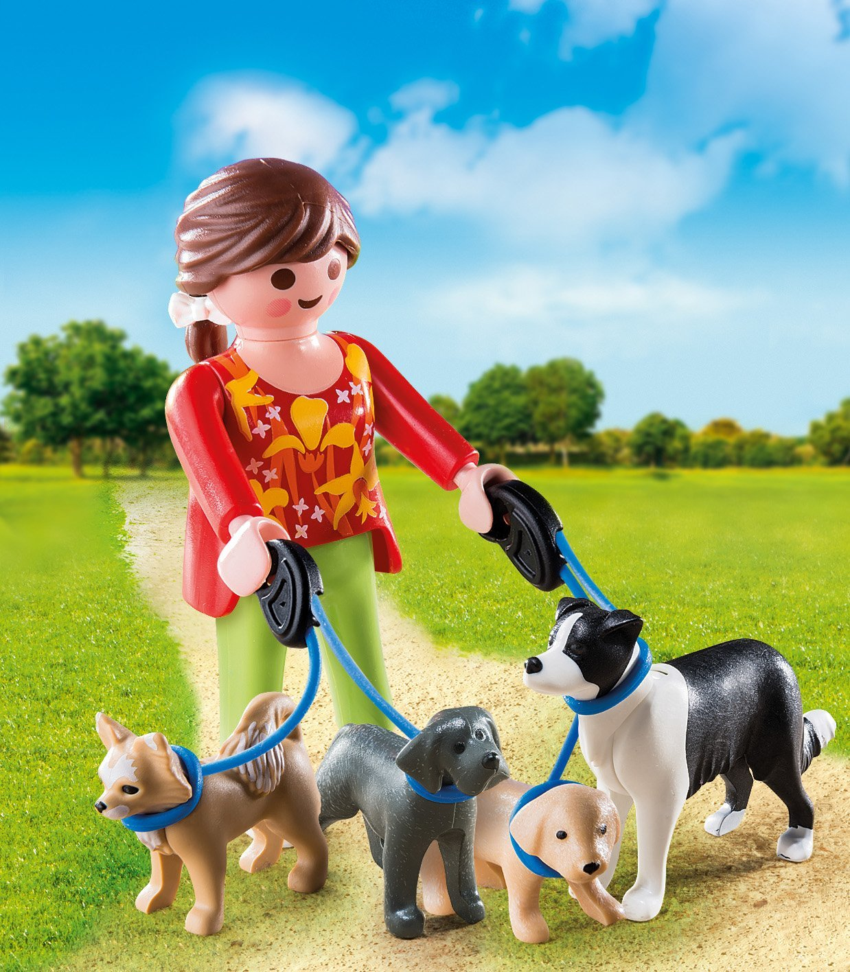 Playmobil 5380 Special Plus Dog Walker Figures
