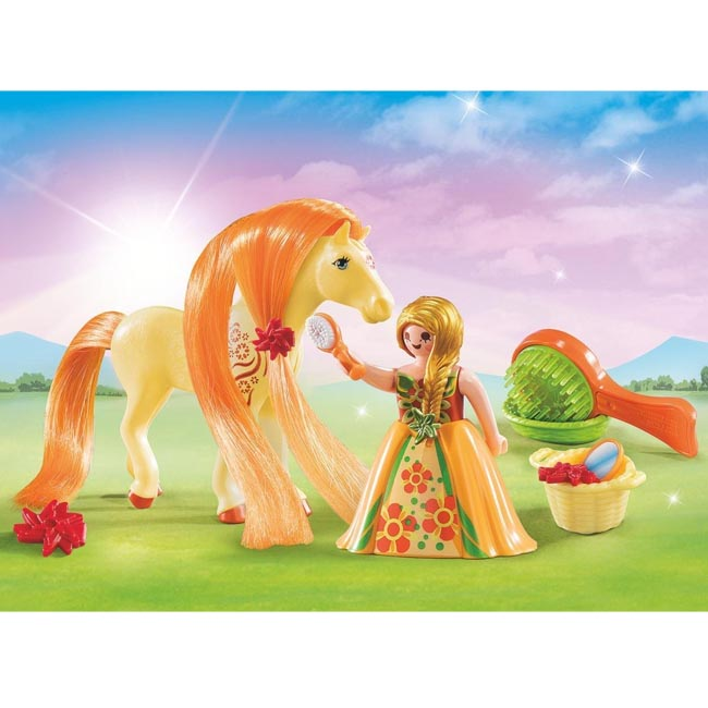 Playmobil Princess Fantasy Horse Carry Case Playset 5656
