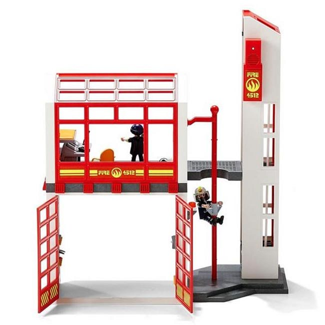 Playmobil City Action Fire Station with Alarm 5361