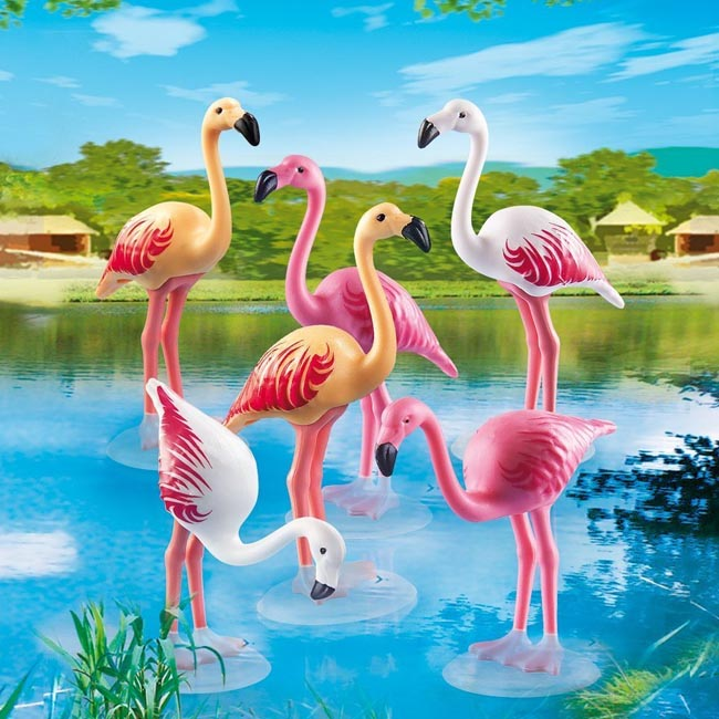 Playmobil Flock of Flamingos Family Playset 6651