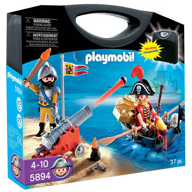 Playmobil Pirates Pirate Raft Carry Case Playset 5655