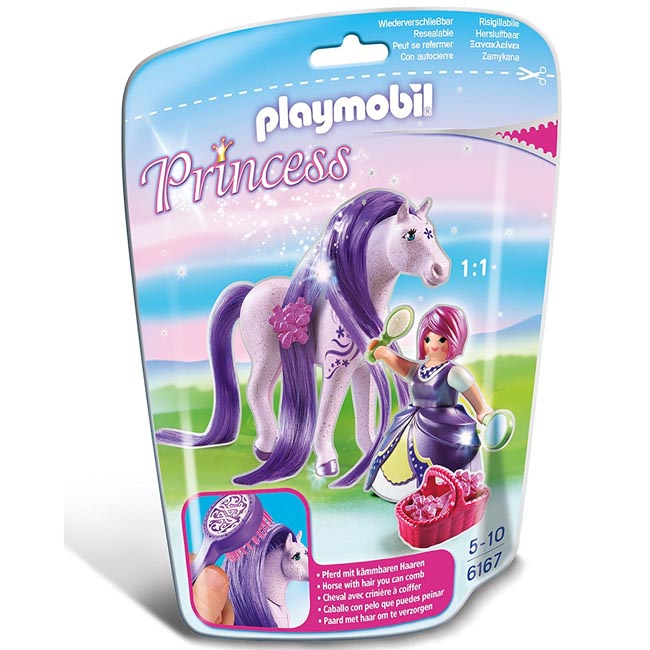 Playmobil Princess Viola with Purple Horse Playset 6167