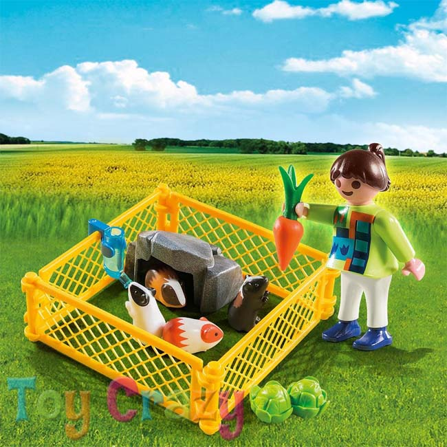 Playmobil Specials Plus Girl with Guinea Pigs 4794