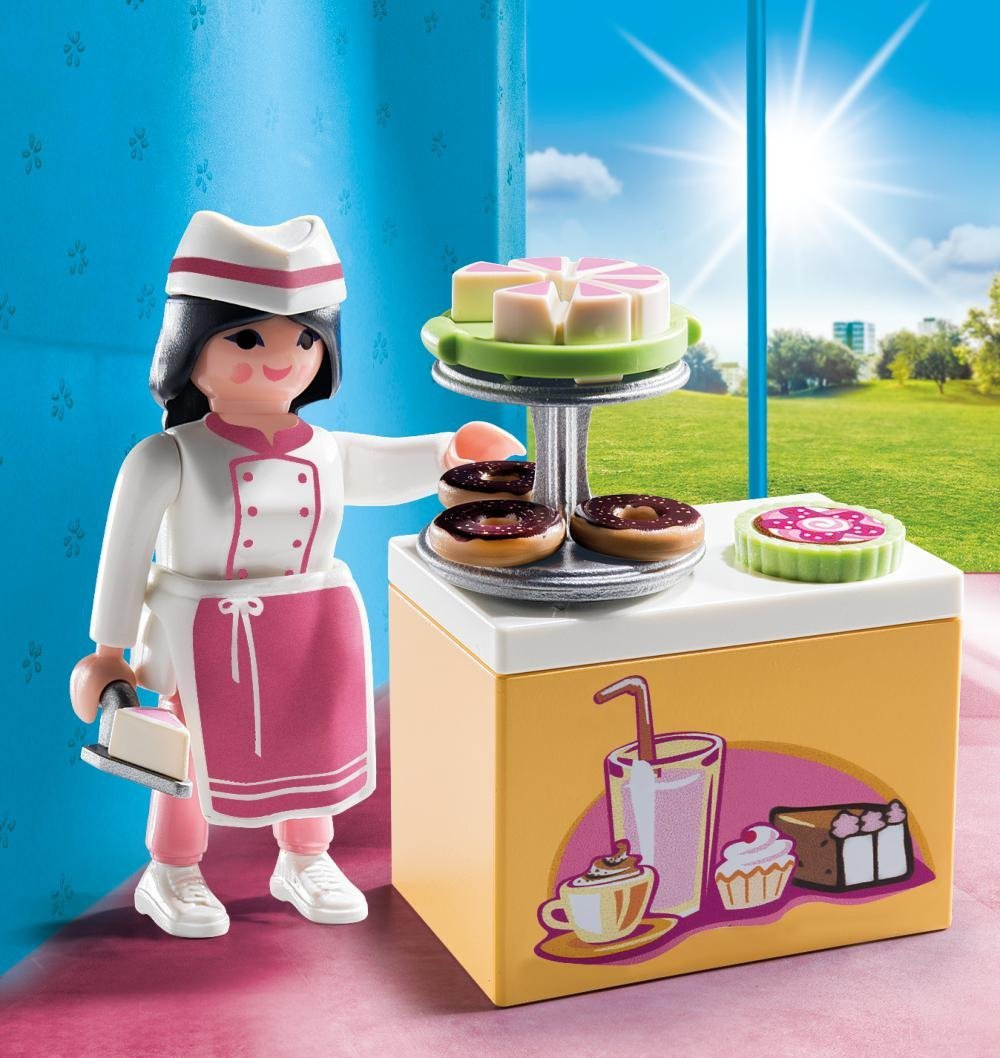 Playmobil 9097 Special Plus Pastry Chef Toy Set