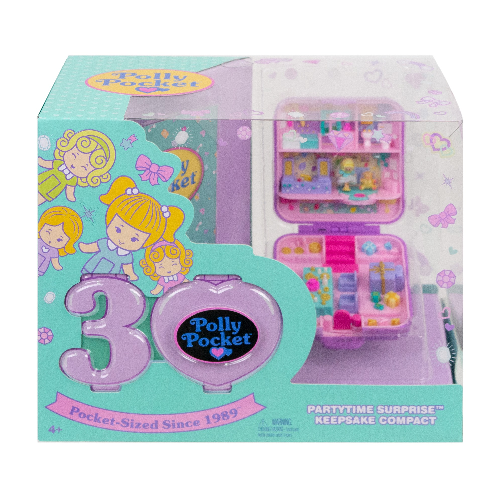 Polly Pocket 30th Anniversary Partytime Surprise Keepsake