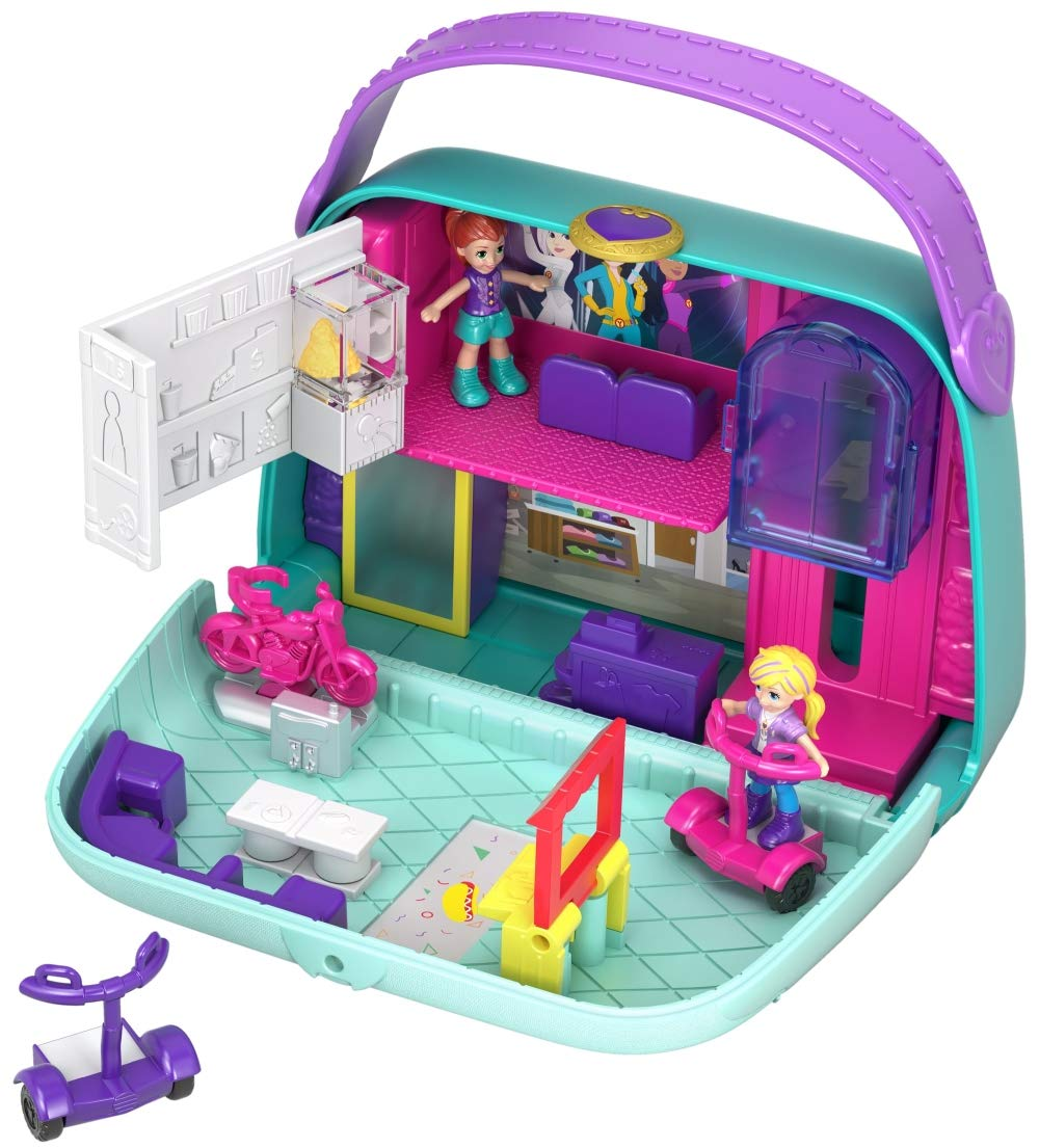 Polly Pocket Big Pocket World Mini Mall Escape Play Set