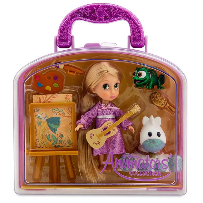 Disney Animators Collection Tangled Rapunzel Mini Doll Play Set
