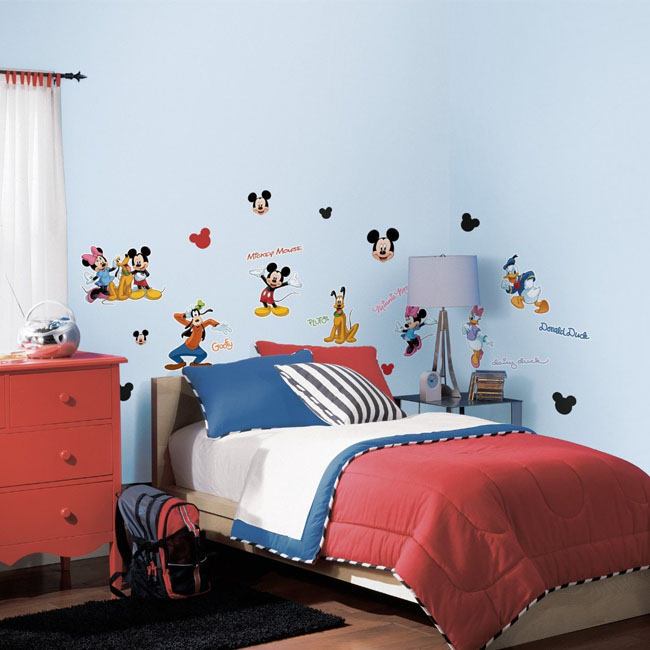 RoomMates Mickey Mouse & Friends Peel & Stick Wall Sticker Decal