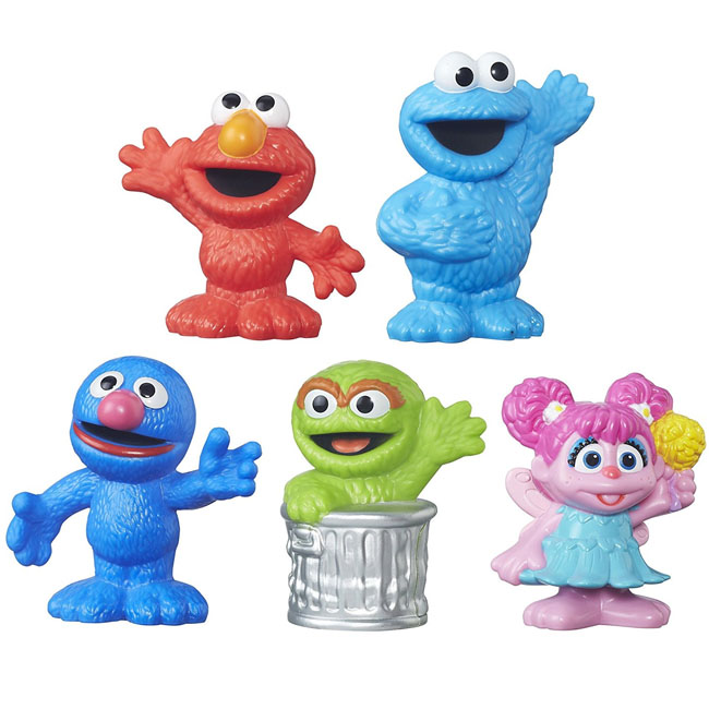 Playskool Sesame Street Figurines Collector Pack 5 Figures