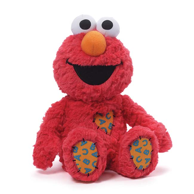 Sesame Street Large Plush Elmo with Patch 30cm by Gund