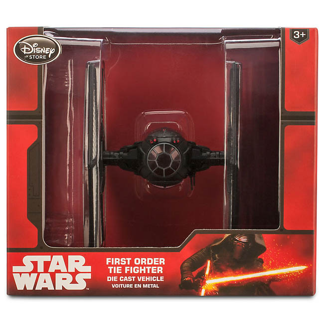 Disney Star Wars First Order TIE Fighter Die Cast Vehicle