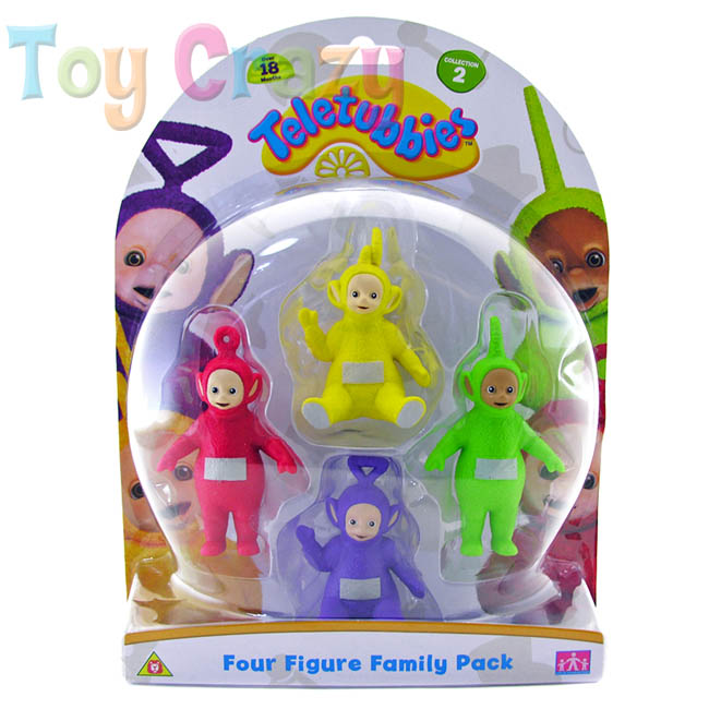 Teletubbies Four Figure Family Figurine Set Pack