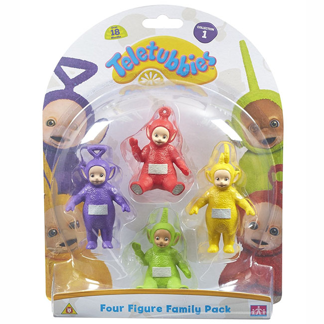 Teletubbies Four Figure Family Figurine Set Pack Set 1