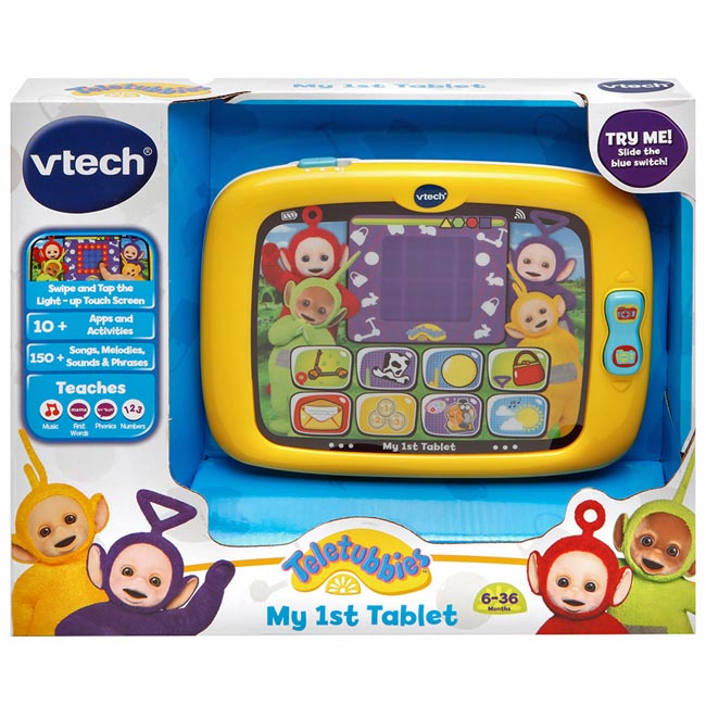 Teletubbies Vtech My First 1st Tablet Electronic Fun Educational