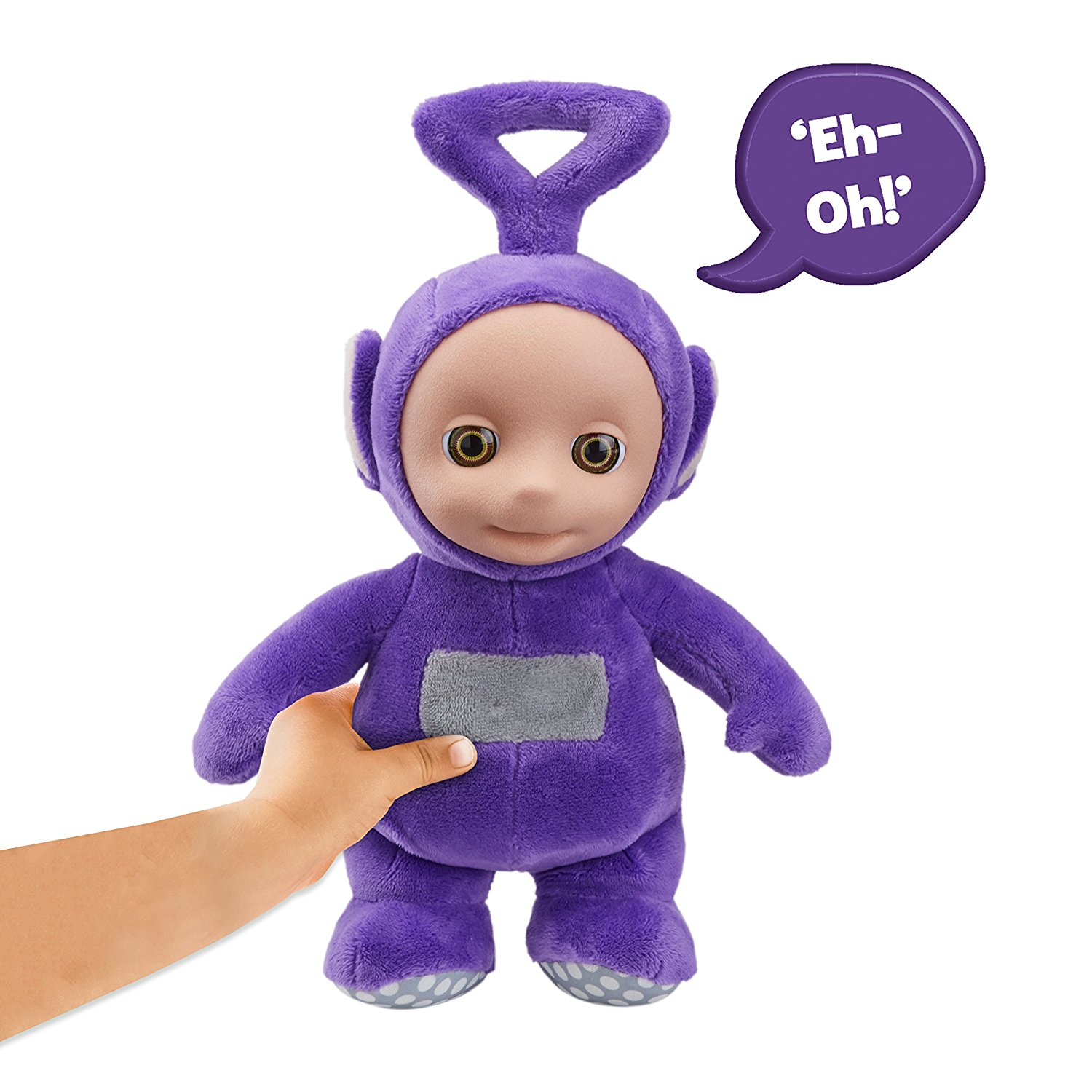 Teletubbies Soft Plush Talking Tinky Winky Toy (Purple)
