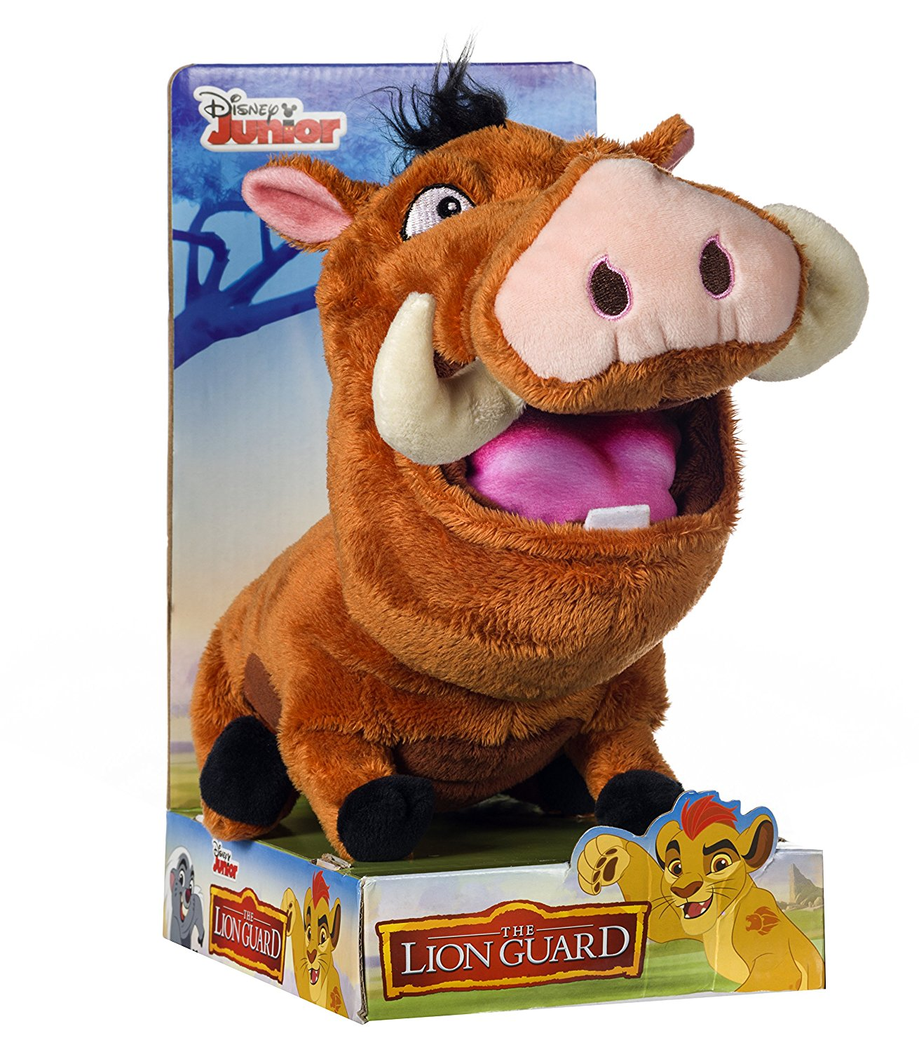 The Lion King Lion Guard Pumbaa The Warthog Plush Soft Toy - Click Image to Close