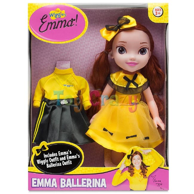 The Wiggles Emma Ballerina Dress Up Doll