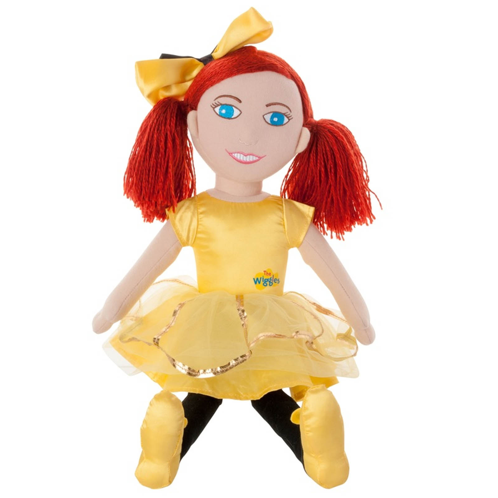 The Wiggles Emma Large Plush Ballerina Cuddle Rag Doll 50cm