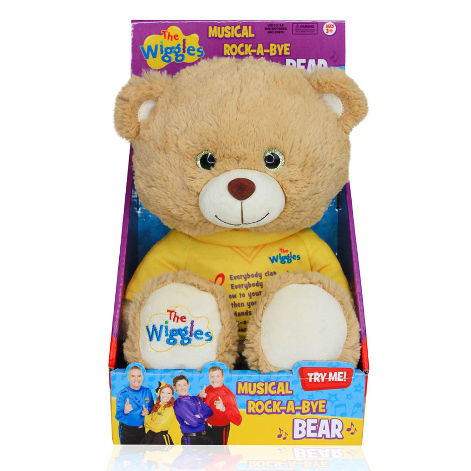 Wiggles Musical Rock-A-Bye Bear Singing Plush