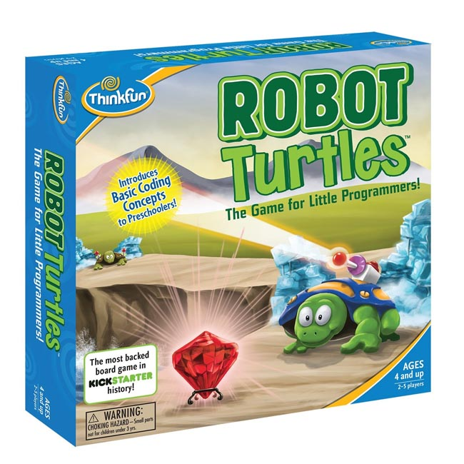 ThinkFun Robot Turtles Coding Board Game for Little Kids